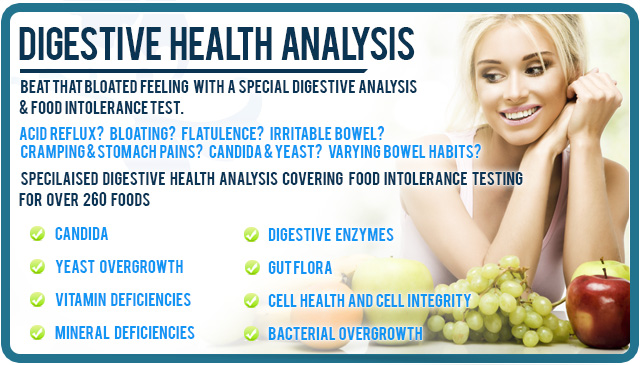 Food Intolerance & Digestive Health Analysis